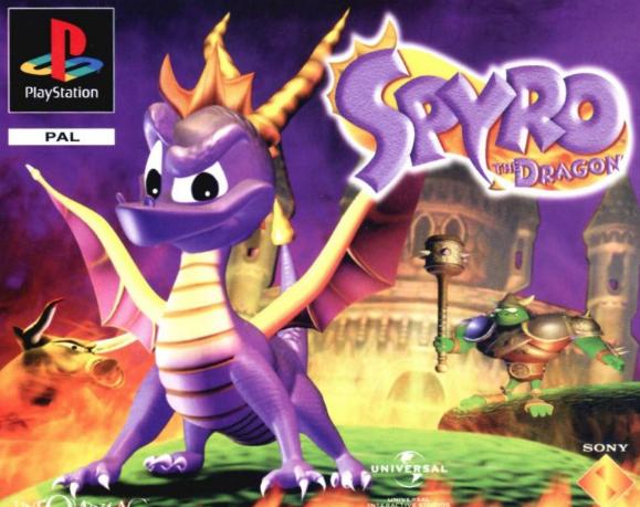 Spyro copie sur Crash Bandicoot !