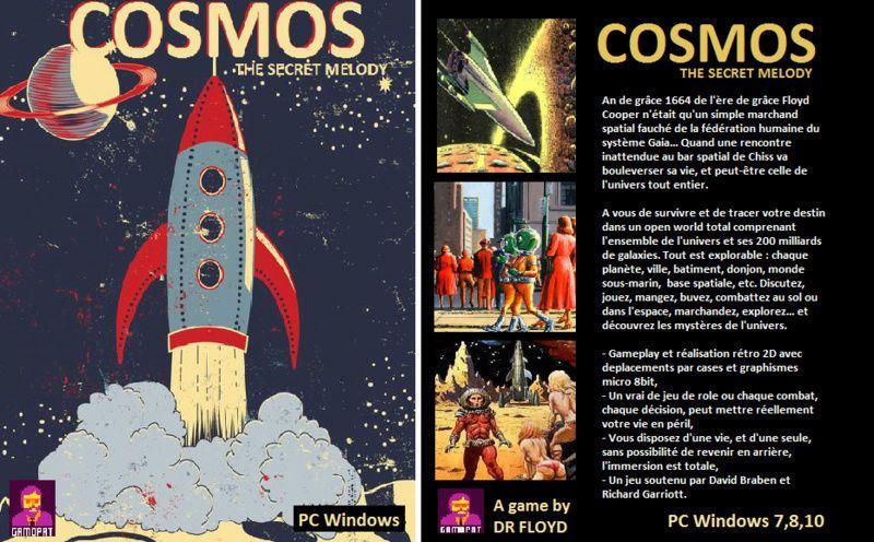Cosmos The Secret Melody, prochain jeu Gamopat Studio !