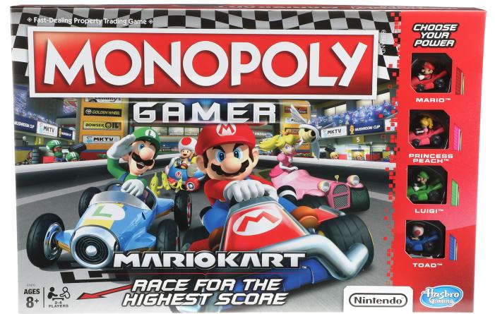 [MAJ] Monopoly Mario Kart en préco sur Amazon