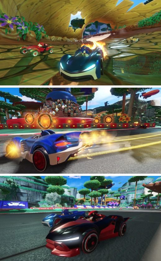[FUITES PAMPERS] Team Sonic Racing confirmé !
