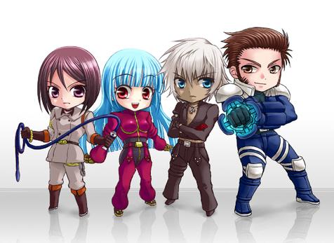 Les héros de la Saga NESTS