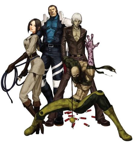 De gauche à droite : Whip, Maxima, K' et Lin