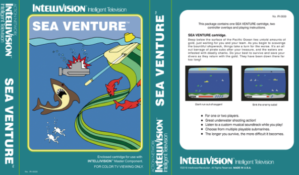SeaQuest Remastered 4K sur Intellivision