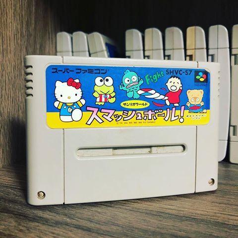 [RETROGAMING] Sanrio World Smash Ball / Super Famicom