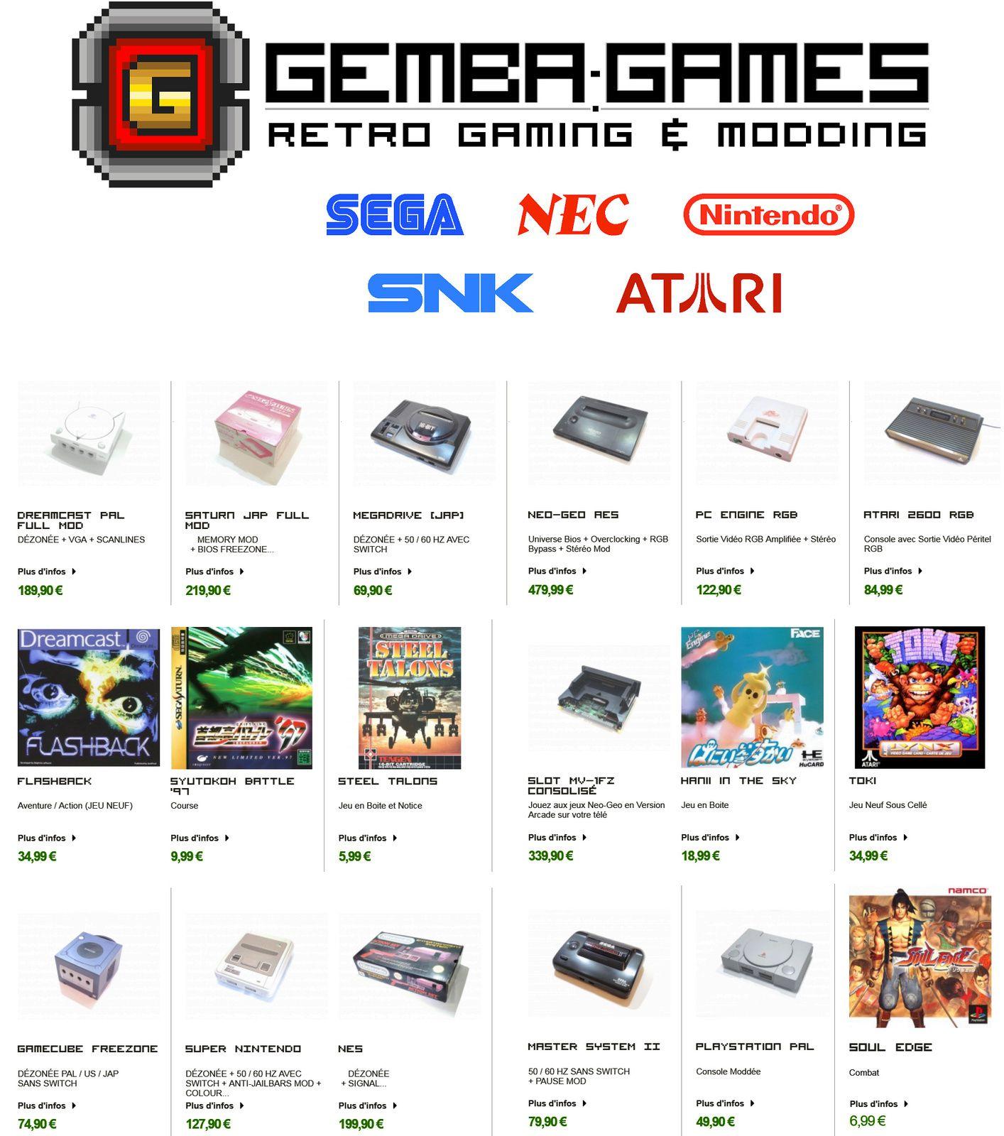 Gemba-Games, partenaire modding de Gamopat