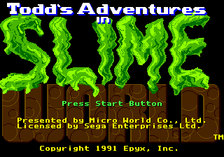 [RETROGAMING] Todd's Adventures in Slime World / Megadrive