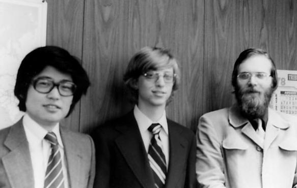 Paul, à droite, lors de l'épopée MSX