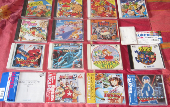 [BROCANTE] Une collection PC Engine d'extraterrestre !