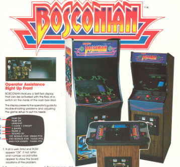 Have you played Bosconian today ?