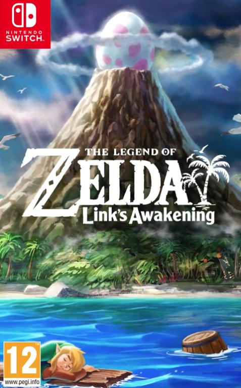 Zelda Link's Awakening... la boite !