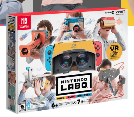 "Le VR KIT va ""cartonner"" sur Switch !"