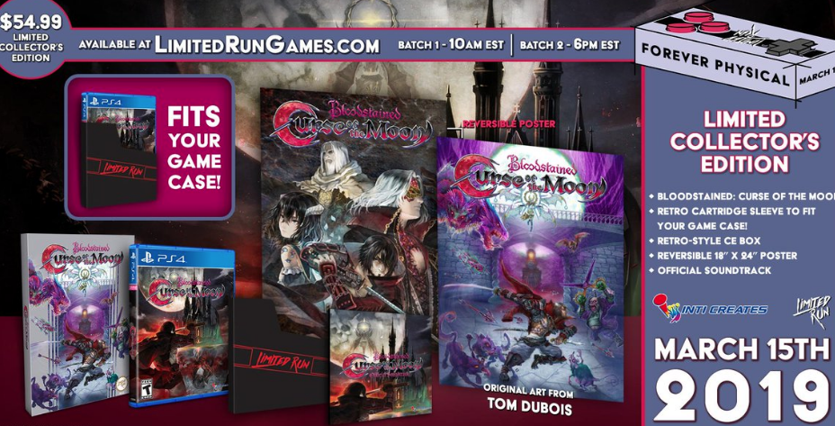 Bloodstained: Curse of the Moon en boite !