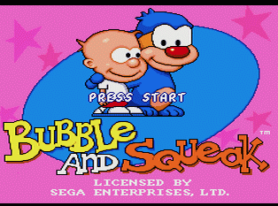 [TEST] Bubble and Squeak / Megadrive