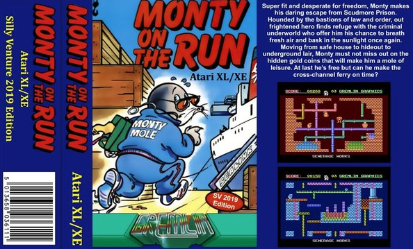 Monty on the Run! Sur Atari 8bit !