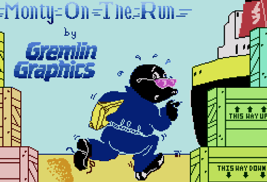 Have you played Monty on the Run today ?