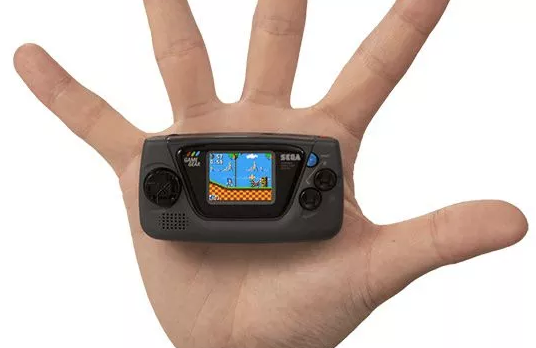 La Game Gear Mini, la bonne blague de Sega !