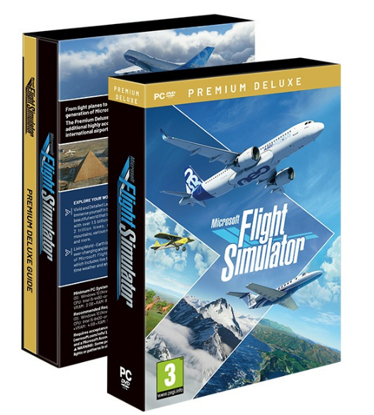 Flight Simulator se la pète en 10 DVDs