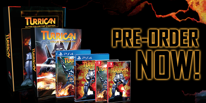 TURRICAN is back ! Wahnsinn !