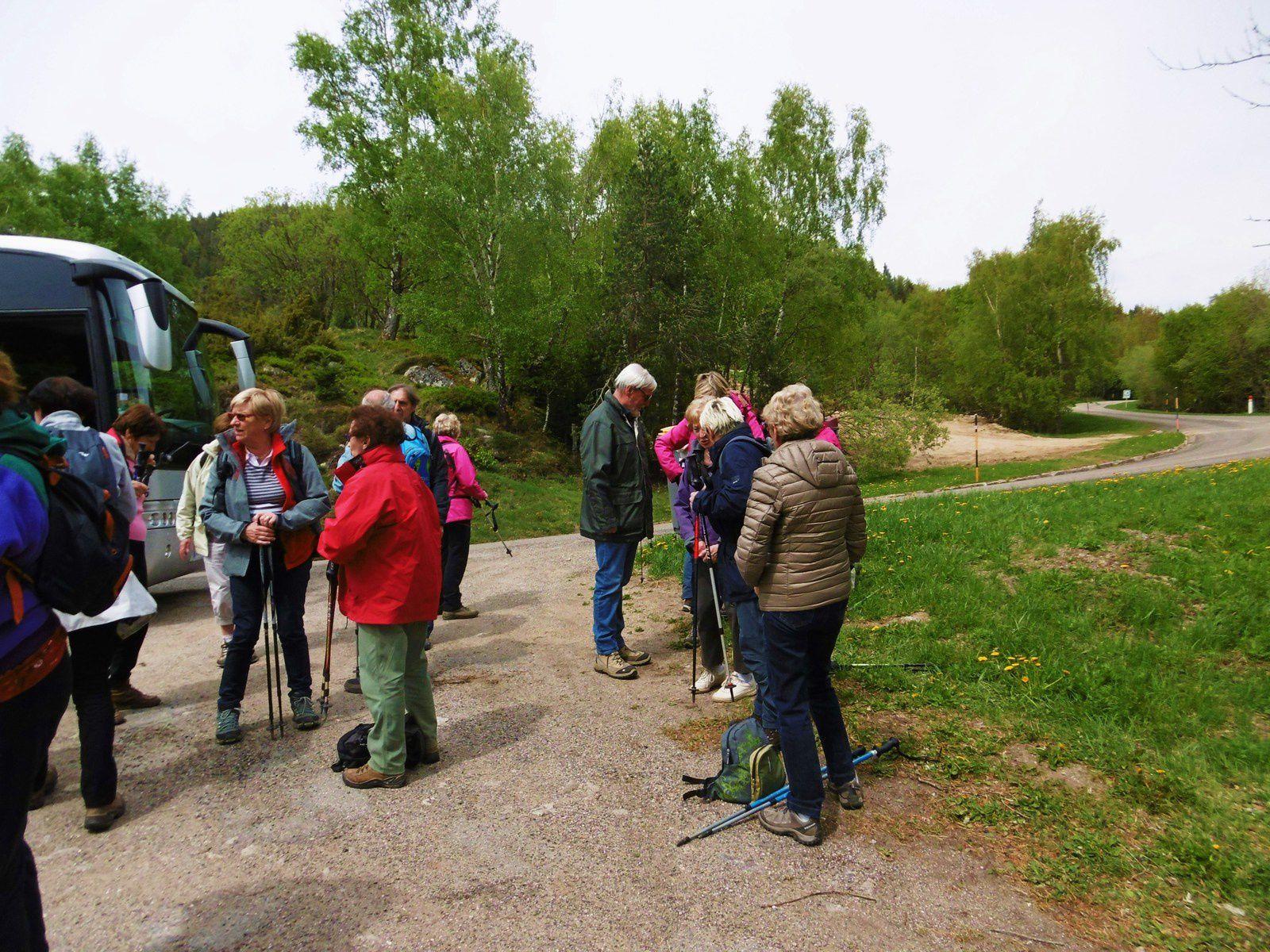 Sortie séniors, c'était le mercredi 2 mai 2018, du Gaschney à Ampfersbach.