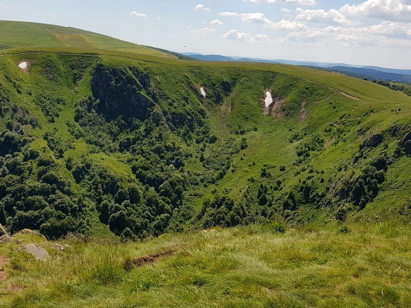 C'était le 20 juin sur le Sentier des Roches, avec les randonneurs