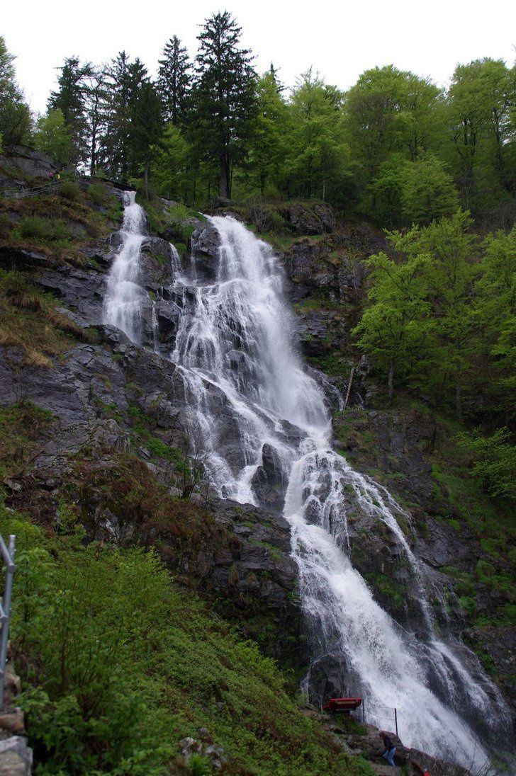 Todtnau Waterfalls.