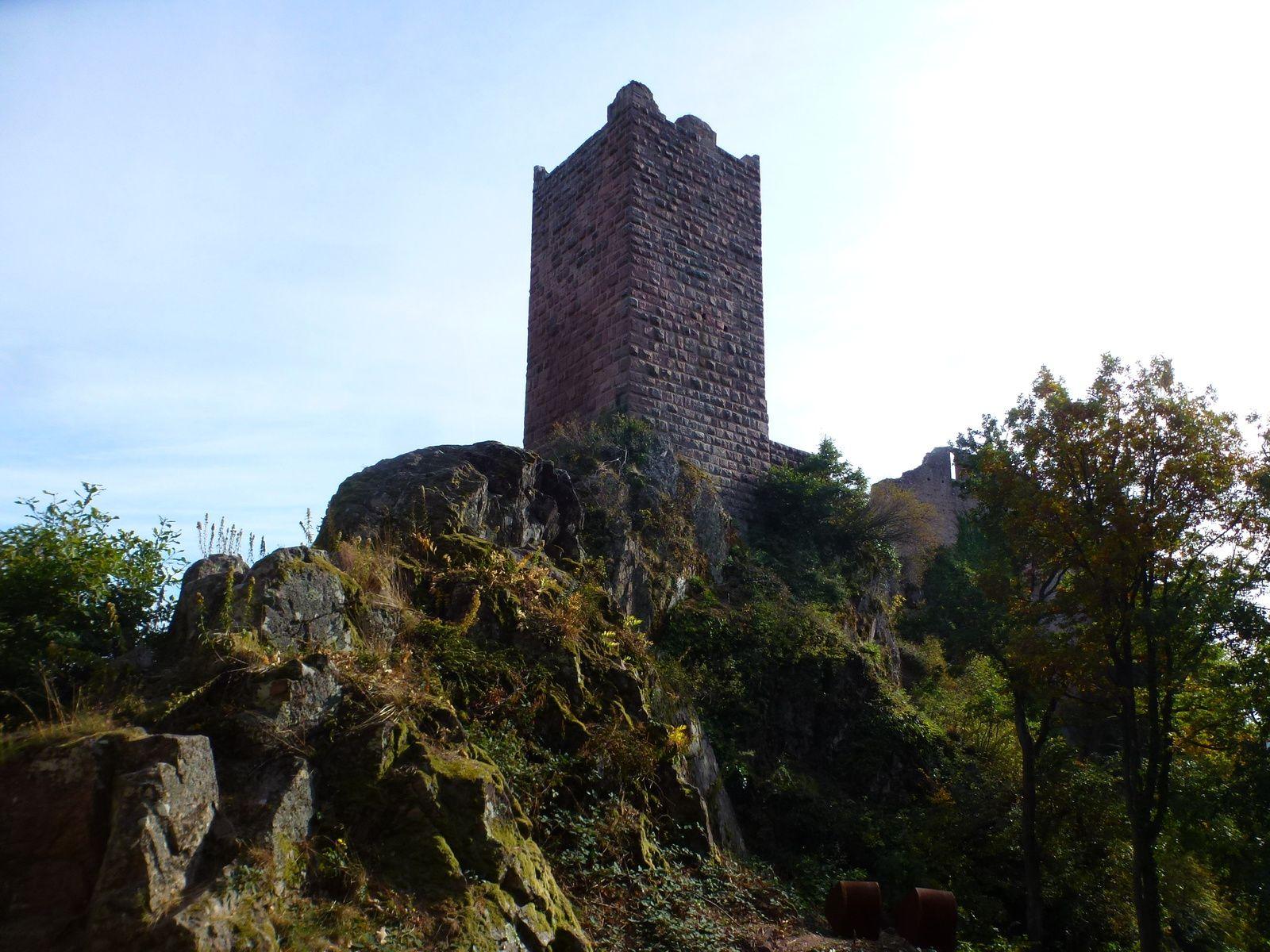Sortie séniors, c'était le 17 octobre 2018 : Les châteaux de Ribeauvillé.