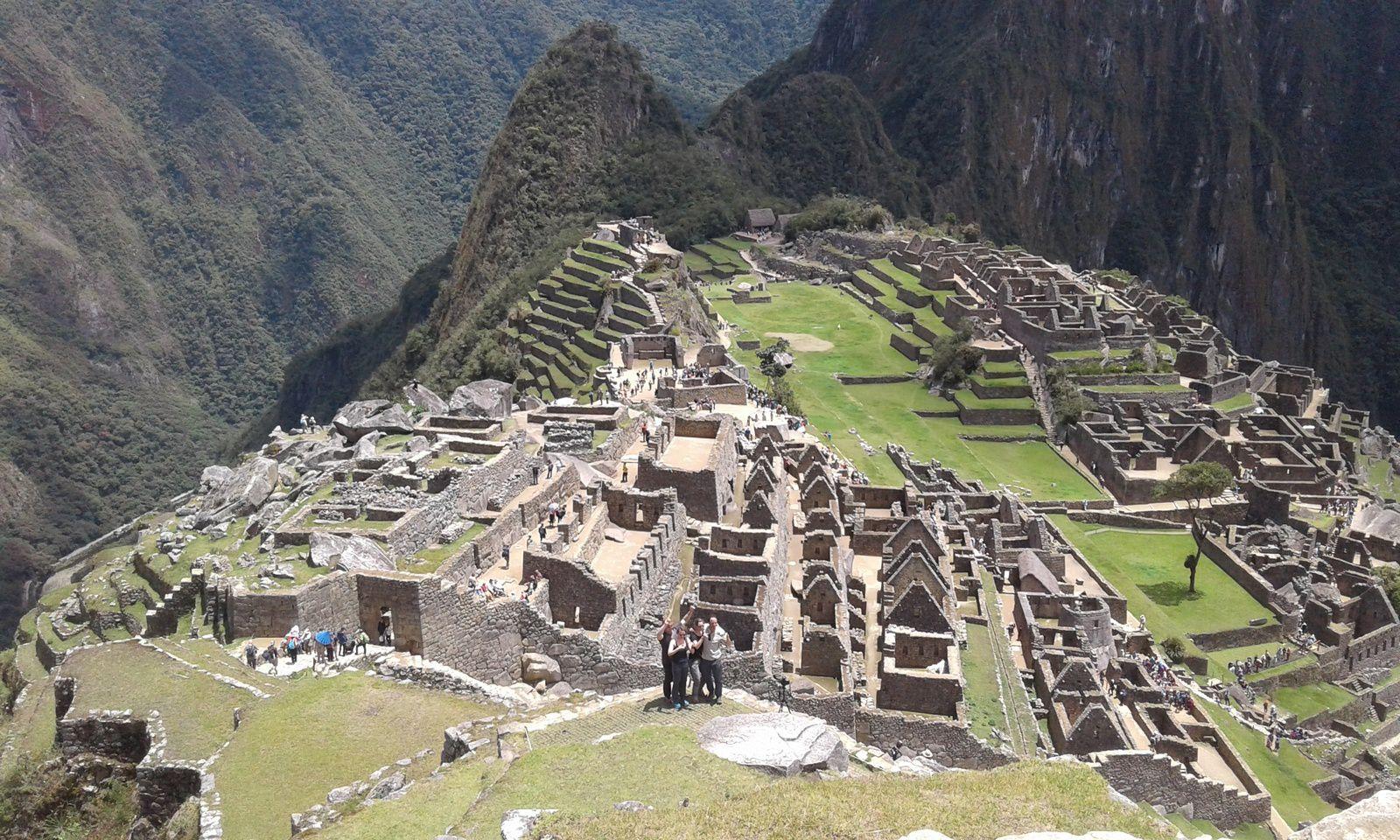 Au Machu Pichu