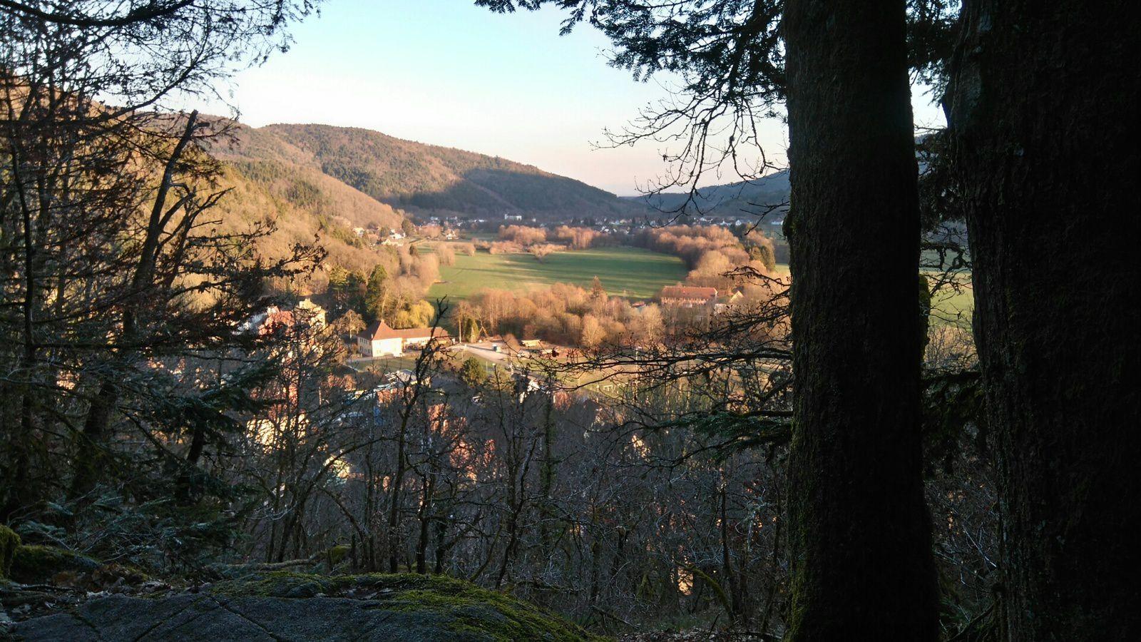 Randonnée dans la vallée de la Doller - mercredi 3 avril 2019