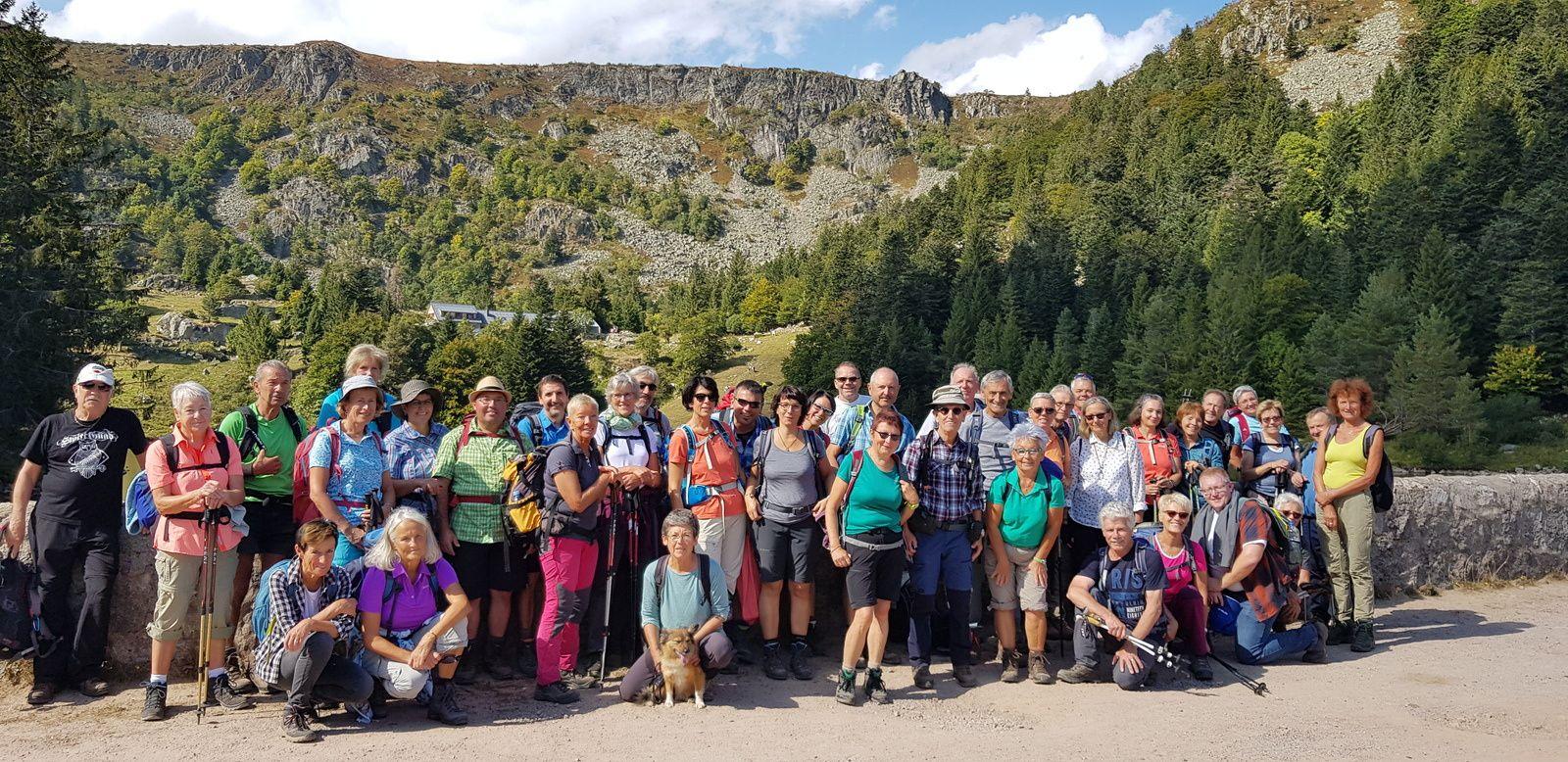 C'était le dimanche 22 septembre 2019 avec la délégation du Schwalzwaldverein de Breisach