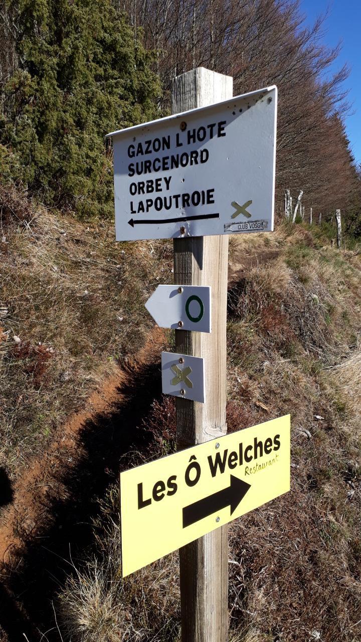 Randonnée au départ d'Orbey vers le Col du Calvaire - mercredi 15 janvier 2020