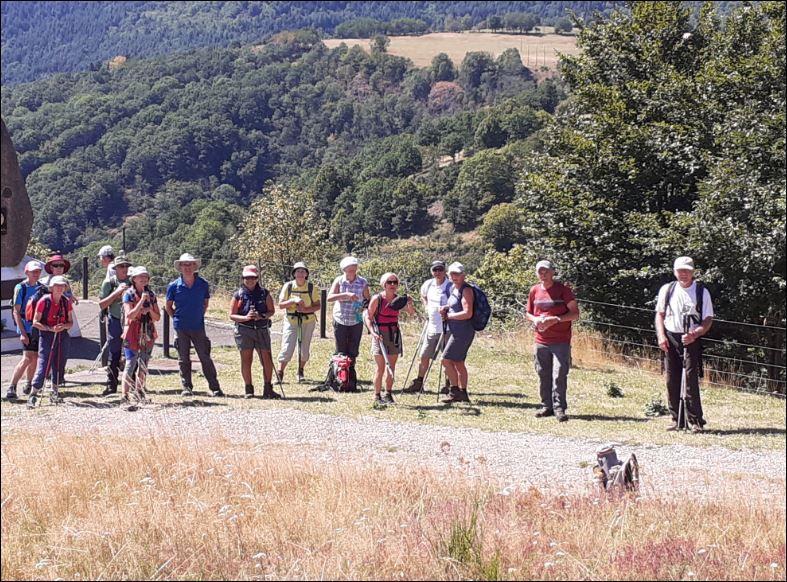 C'était le mercredi 5 août avec les randonneurs au Thannerhubel