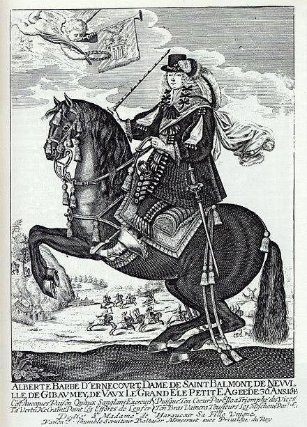 Madame Morgane de Bellecour, Baronne lorraine