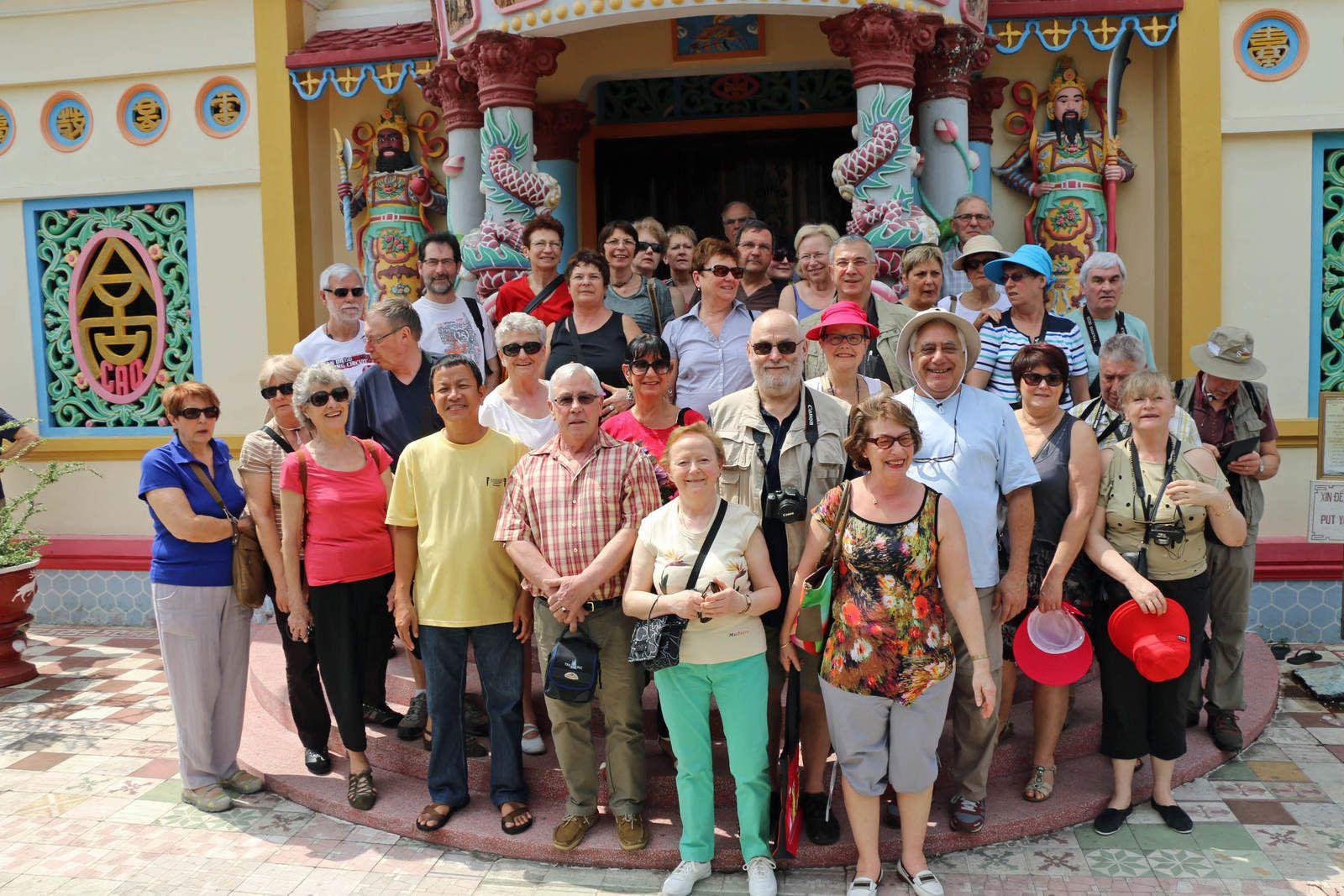 """Circuit au VIETNAM avec notre guide """"kui kui"""""""