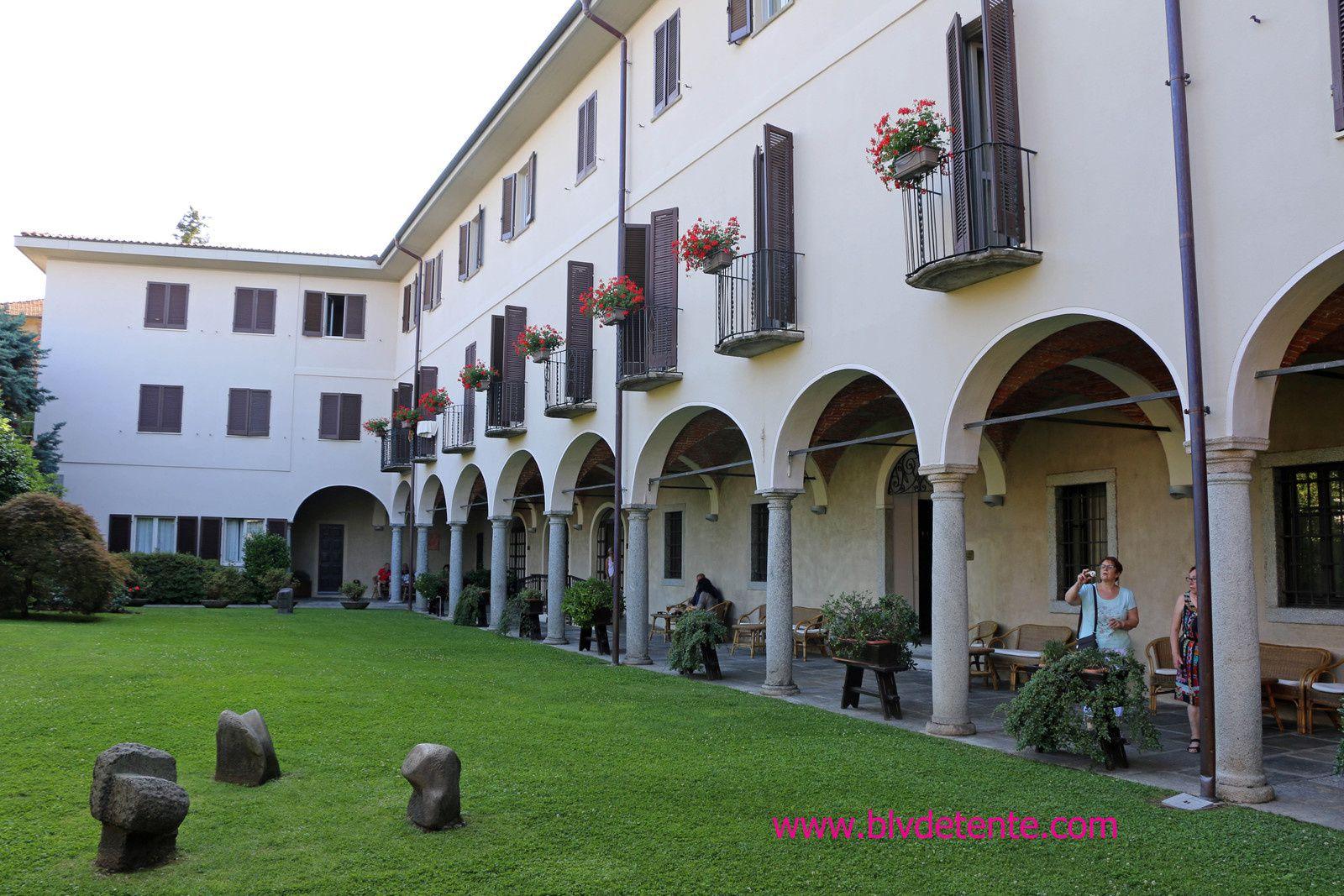 Notre hôtel et la cathédrale de MILAN