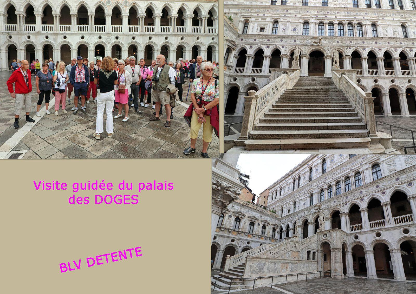 Visite guidée du palais des DOGES à VENISE