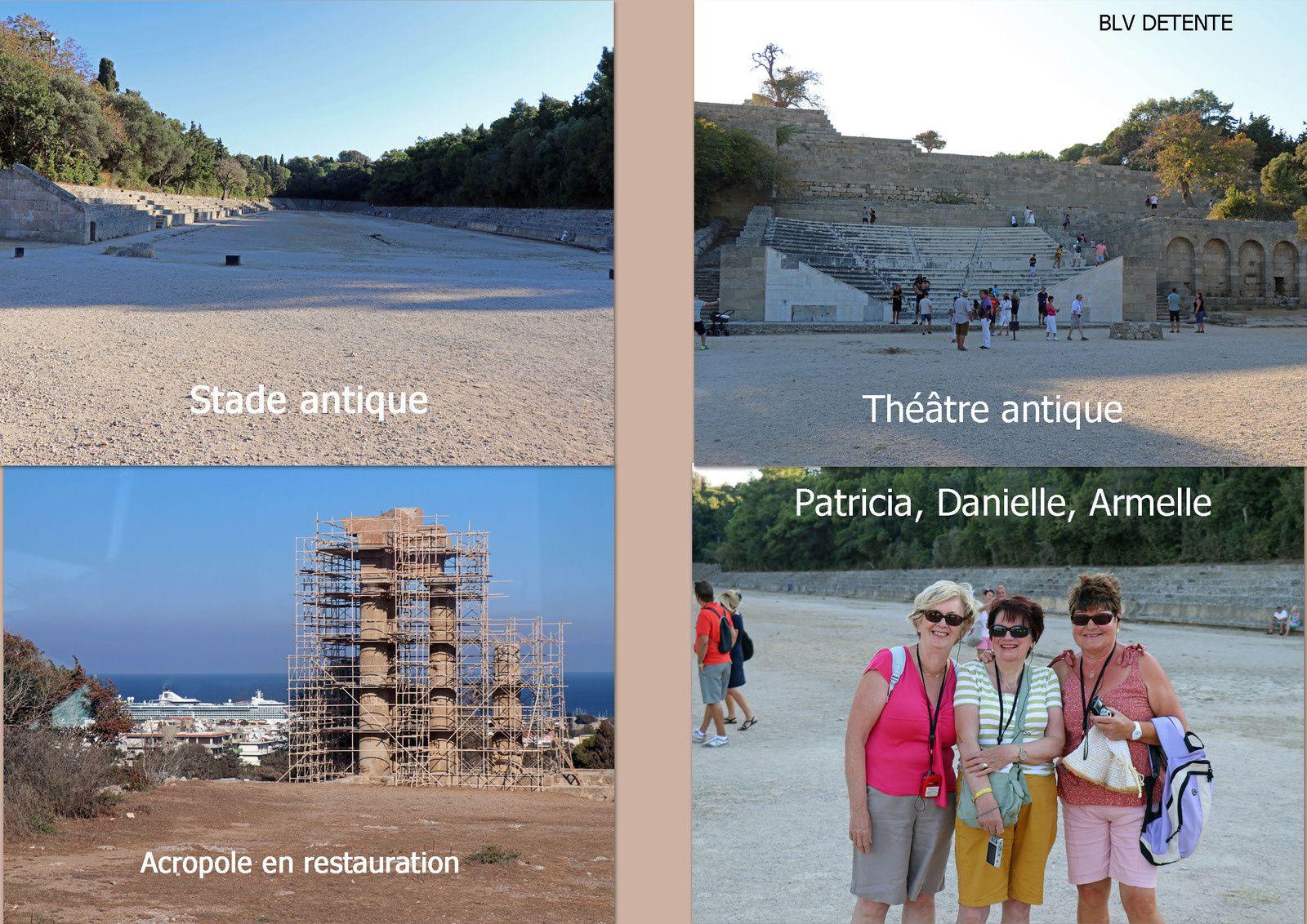 Visite du site de l'acropole de RHODES
