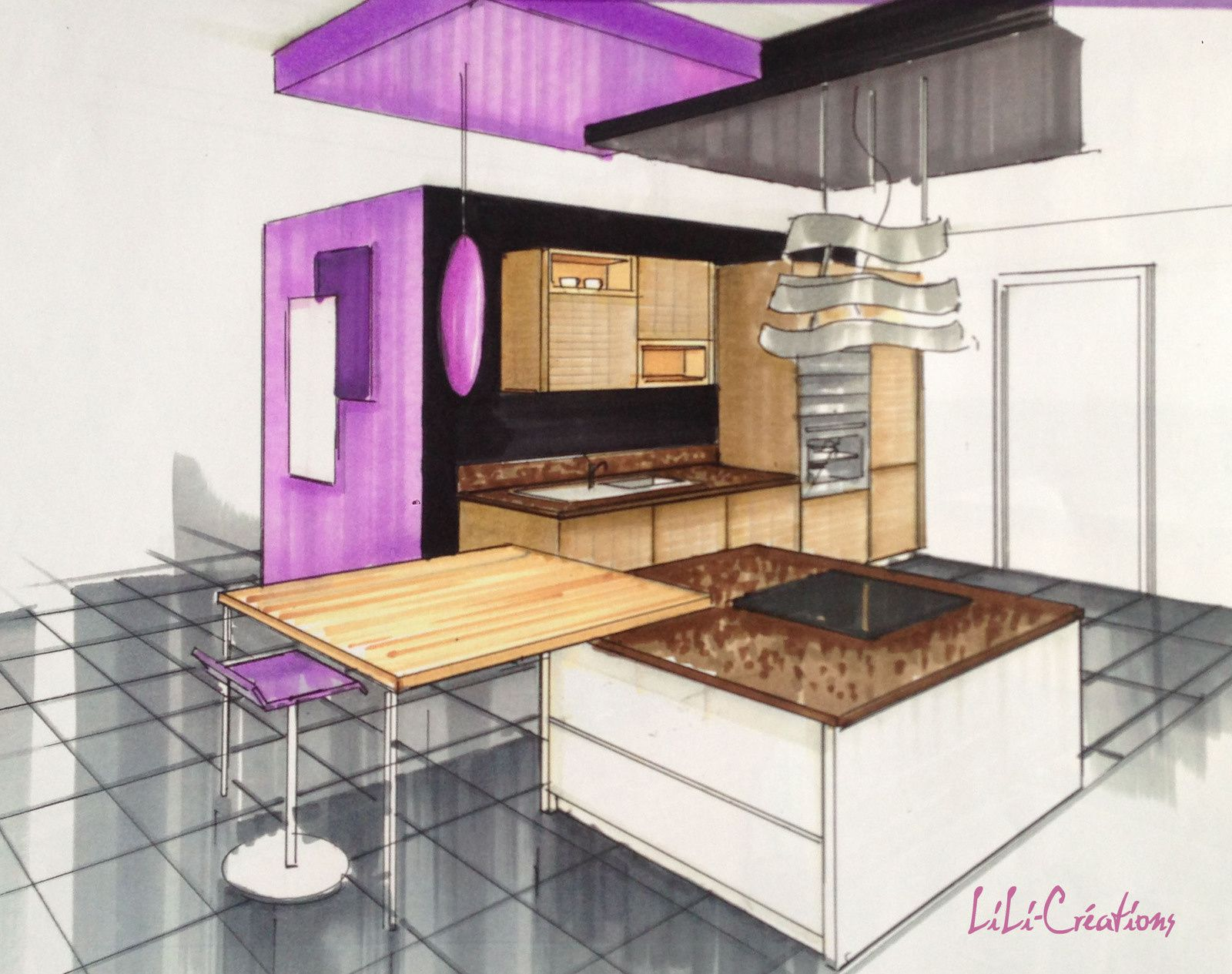 le blog de elise fossoux d coration architecture d 39 int rieur dessin design am nagement. Black Bedroom Furniture Sets. Home Design Ideas