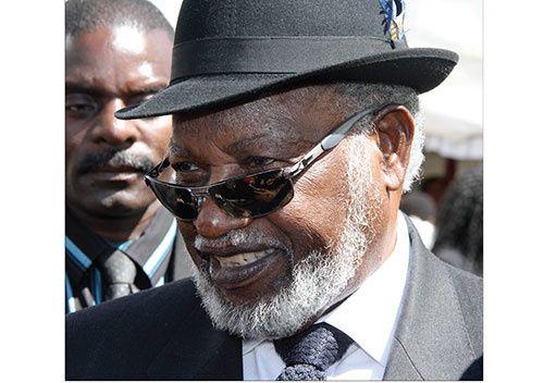 Imágenes de Sam Nujoma, ex presidente y líder de la independencia de Namibia.- E- Muni.