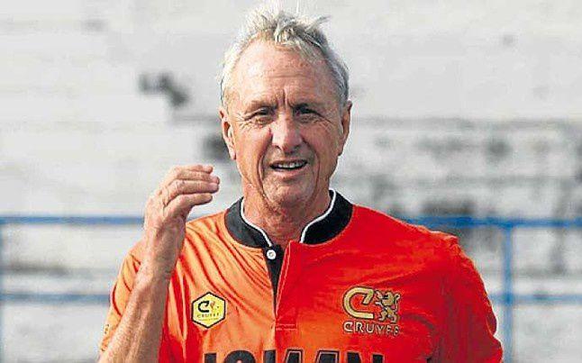 Muere Johan Cruyff a los 68 años, víctima de un cáncer.