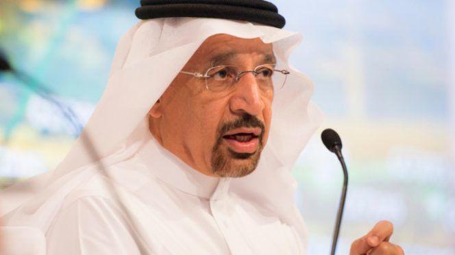 Khalid al-Falih, el ministro saudí de Energía.- El Muni.