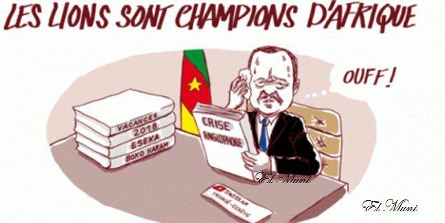 ¿A quién beneficia realmente la victoria de los Leones Indomables en la Copa de Africa de Naciones?.- El Muni.