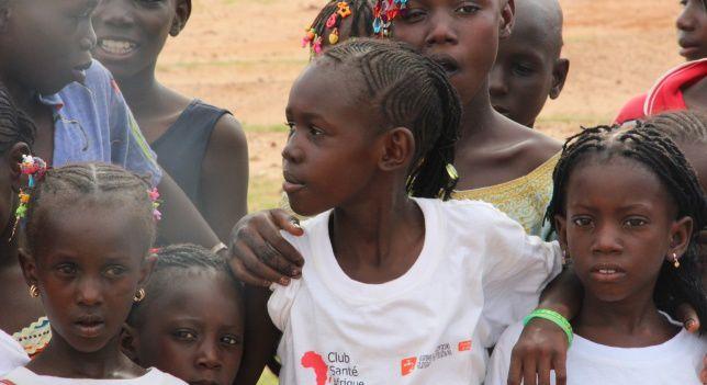 Niñas de Senegal | Foto: María G. Lomas.- El Muni.