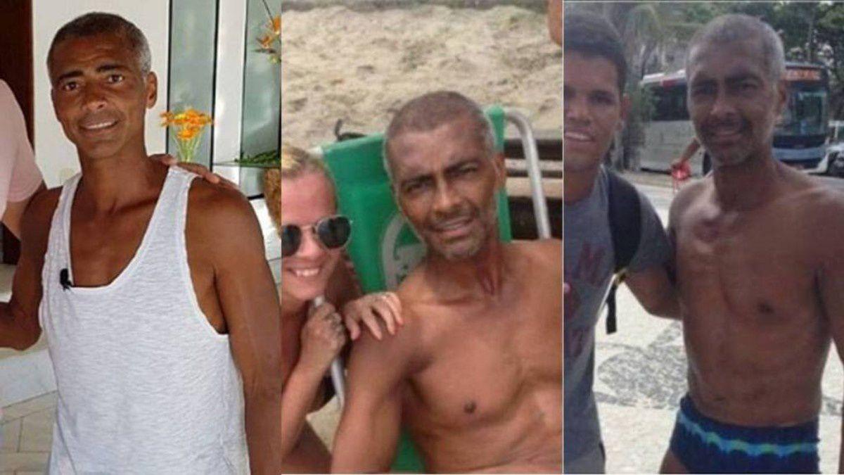Polémica por unas fotos de Romário demasiado delgado.- El Muni.