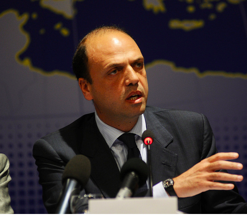 Angelino Alfano, ministro de Exteriores italiano.- El Muni.