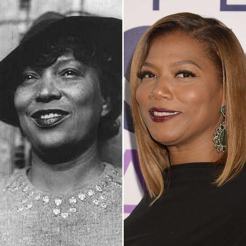 Queen Latifah se parece a Zora Neale Hurston.  Latifah y la famosa novelista comparten exactamente la misma sonrisa. ¡Podrían pasar por gemelas!.- El Muni.