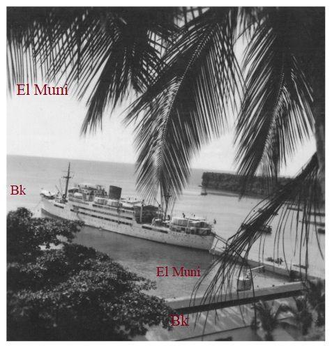 Atracado en Santa Isabel el buque Fernando Poo.- El Muni.