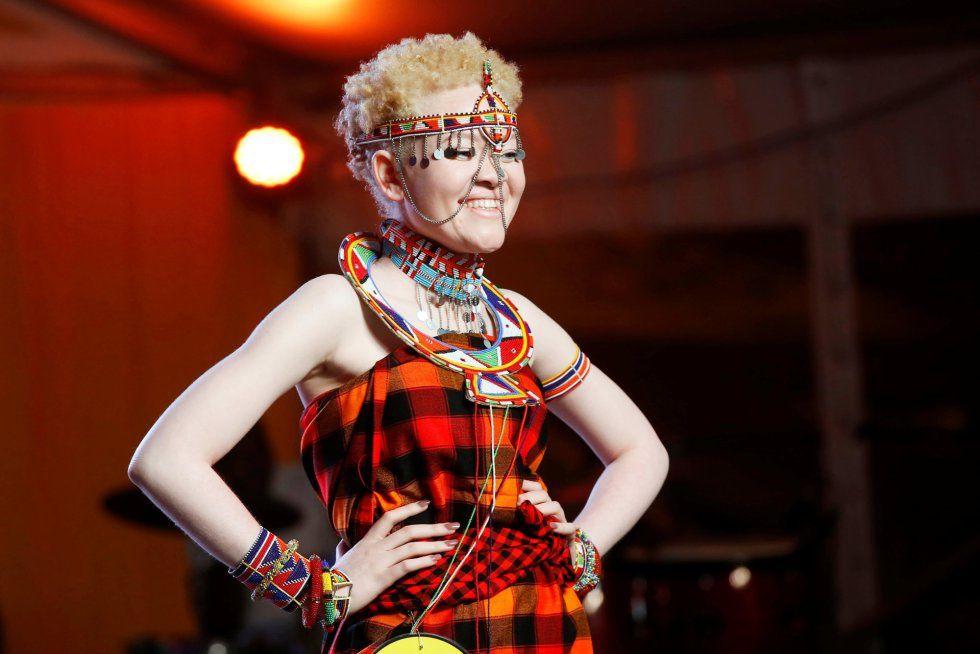 Kenia elige a Miss y Míster Albinos. Participan  Kenia, Tanzania y Uganda: 19 fotos.