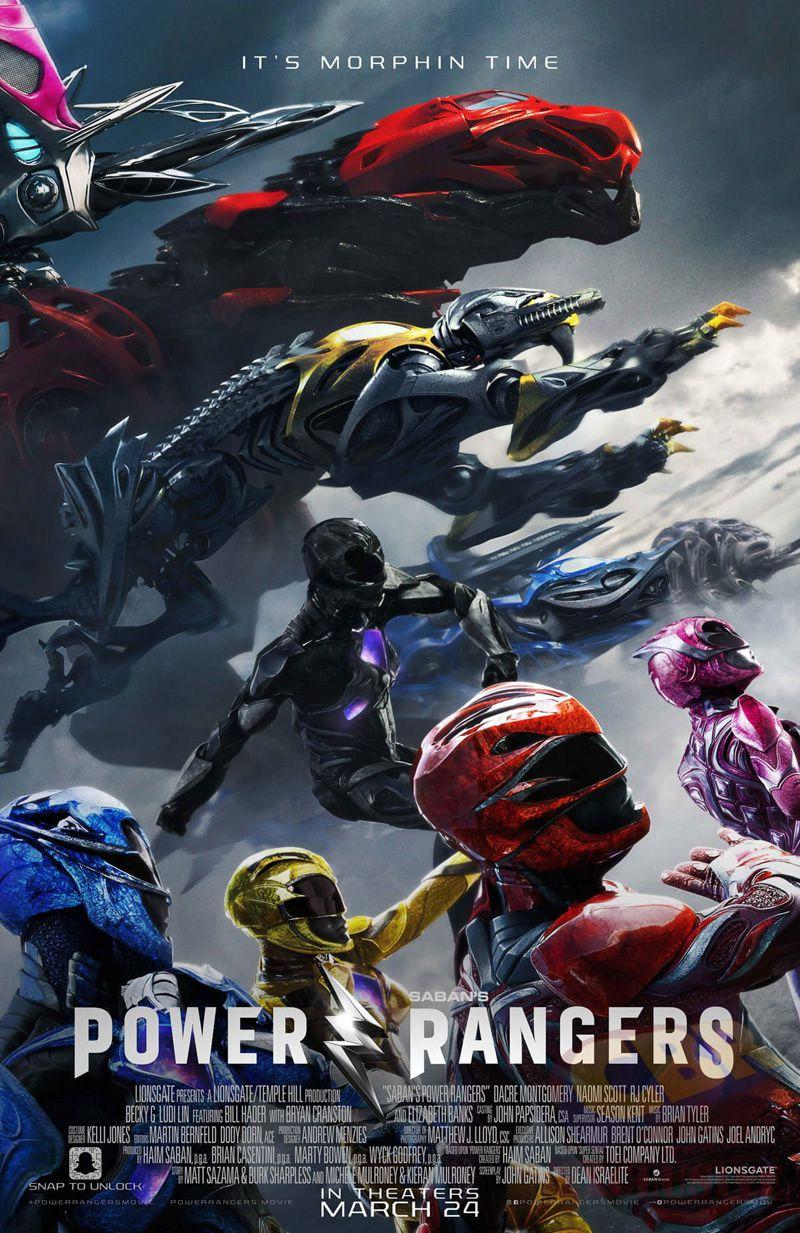 Power Rangers : Nouvelles affiches