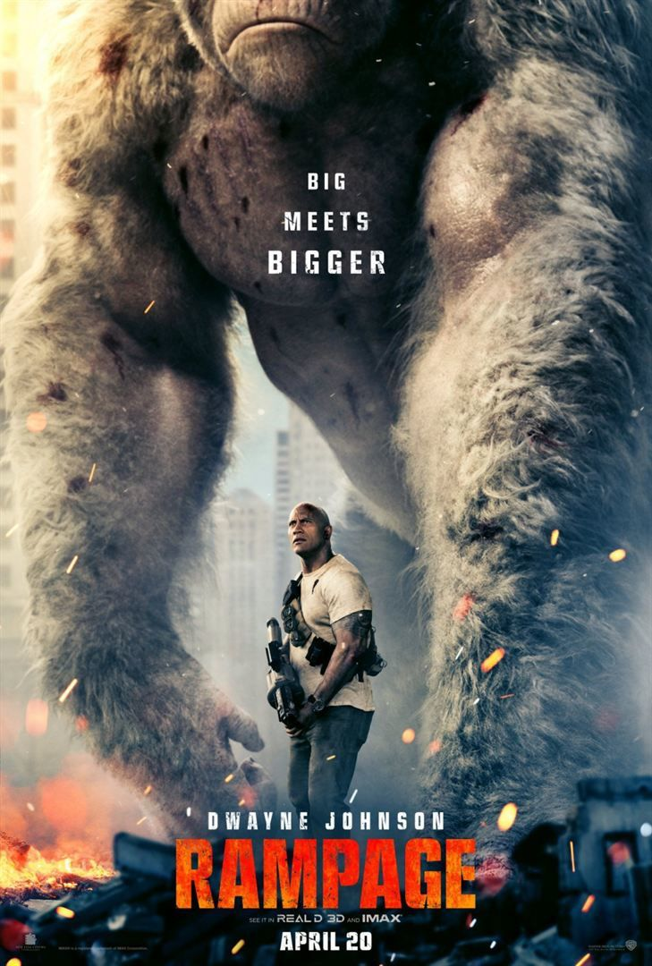 RAMPAGE - Bande Annonce VF