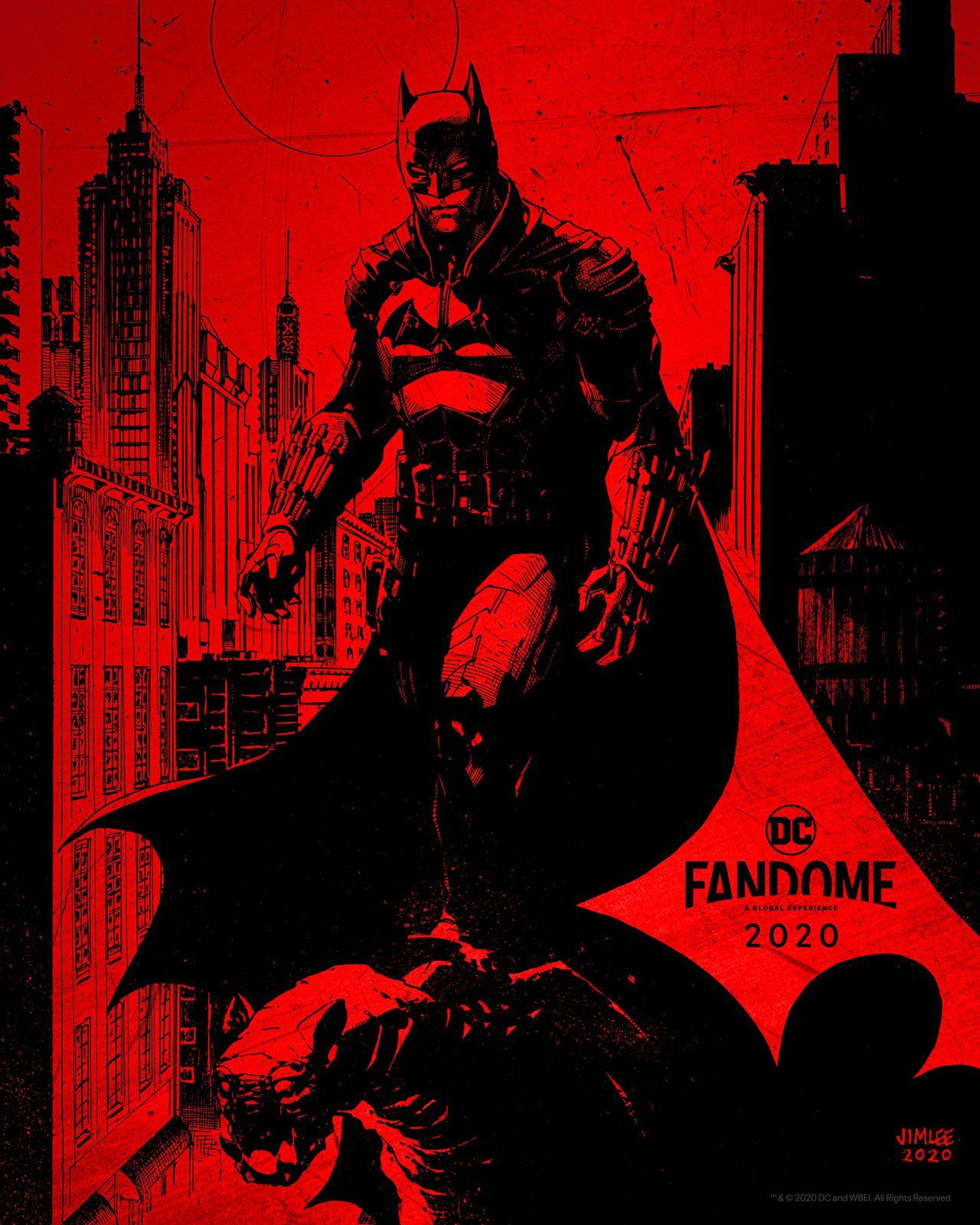 The Batman : logo officiel et affiche concept art